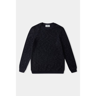 About Companions Hans Jumper - Eco Knotted Navy Linen