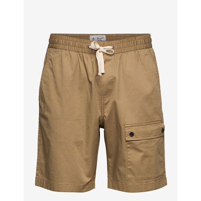 Original Penguin Cargo Short Elasticated Waist - Kelp