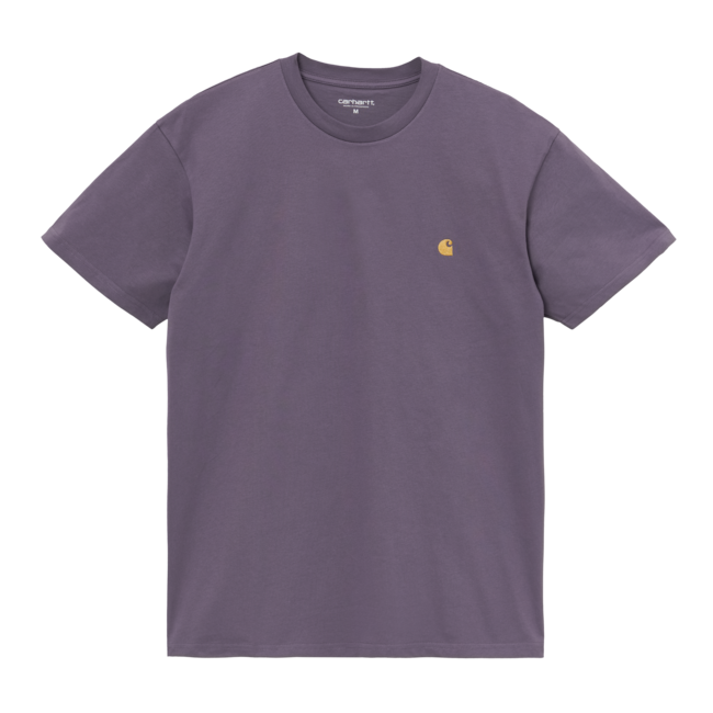 Carhartt WIP S/S Chase T-Shirt - Provence / Gold