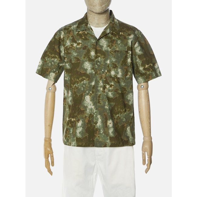 Universal Works Road Shirt - Olive Space Camo