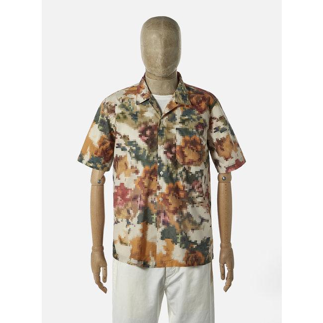 Universal Works Road Shirt - Camo Pixel Flower
