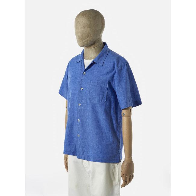 Universal Works Road Shirt - Blue Linen