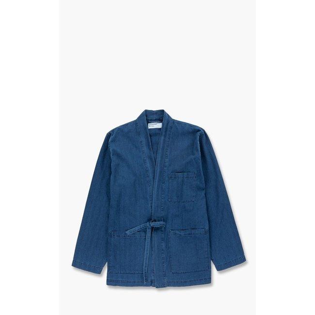 Universal Works Kyoto Work Jacket - Washed Indigo