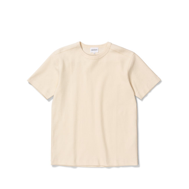 Norse Projects Johannes Compact Waffle SS - Ecru