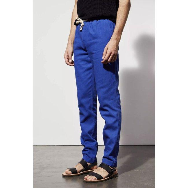 Le Mont st. Michel Elastic waist trouser - Vivid Blue