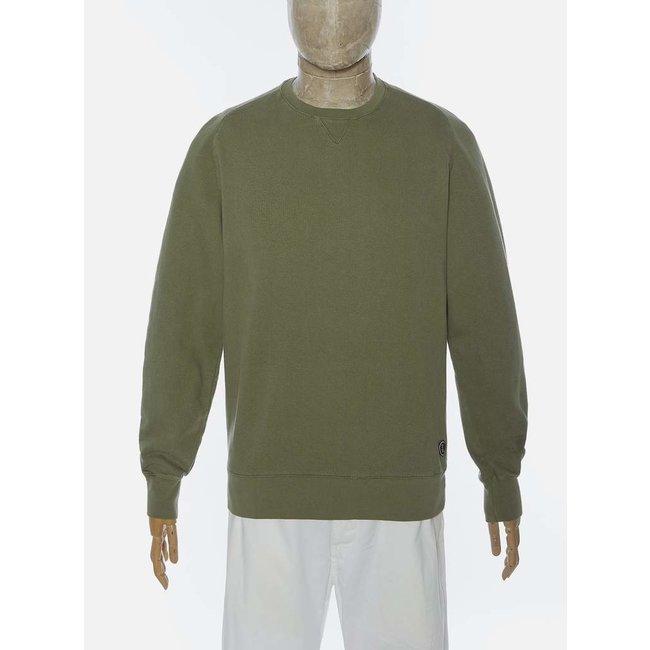 Universal Works Classic Crew Sweatshirt - Olive