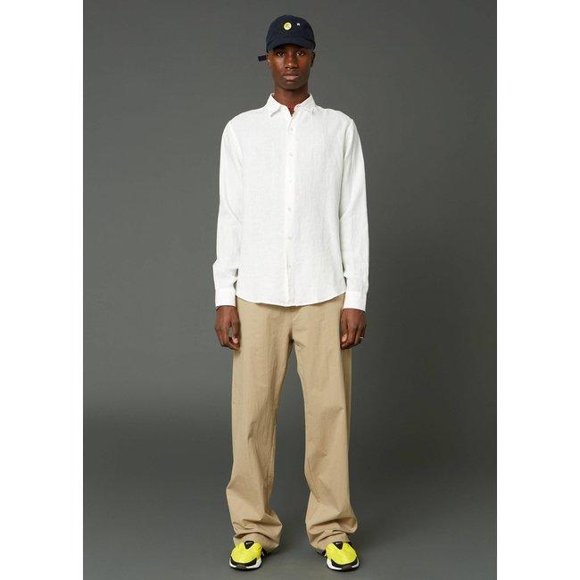 Hope Air Clean Linen Shirt - Off White