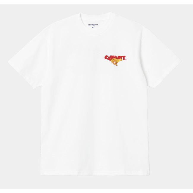 Carhartt WIP S/S Runner T-Shirt - White