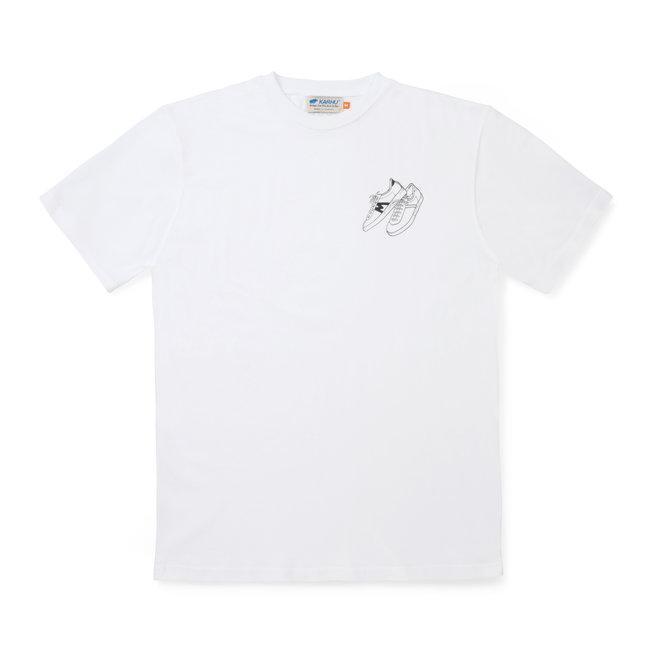 Karhu Trampas Sneakers T-shirt - White/Black
