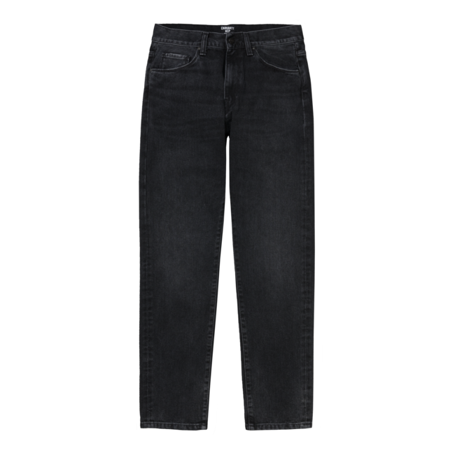 Carhartt WIP Vicious Pant - Black Mid Worn Wash