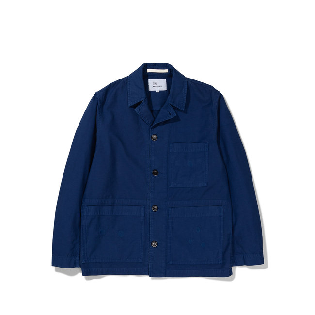 Norse Projects GM x NP Mads Backsatin - Hydrone Blue