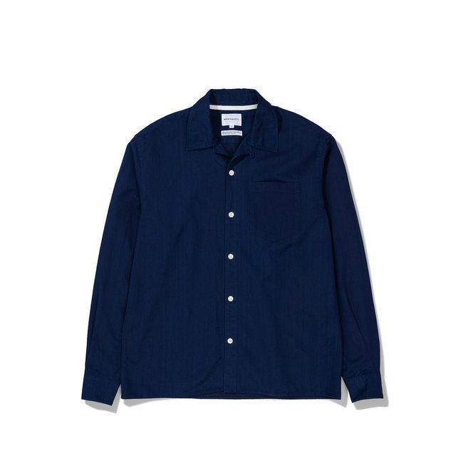 Norse Projects GM x NP Carsten LS - Indigo