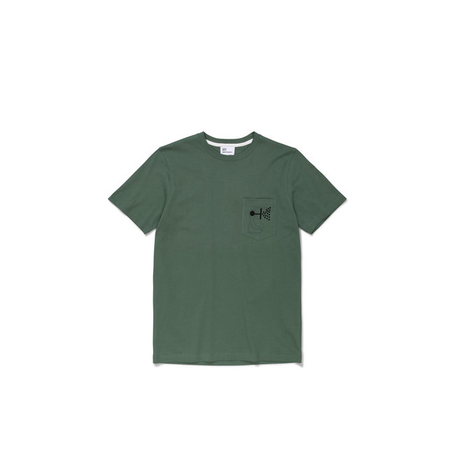 Norse Projects GM x NP Niels Pocket Mind Wall - Thyme Green