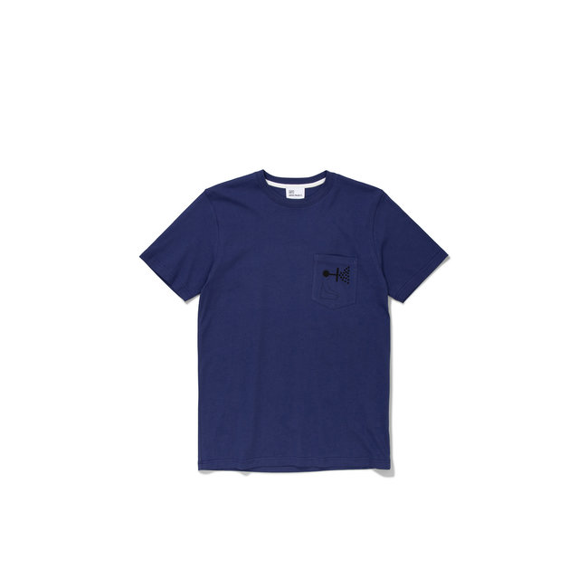 Norse Projects GM x NP Niels Pocket Mind Wall - Hydrone Blue