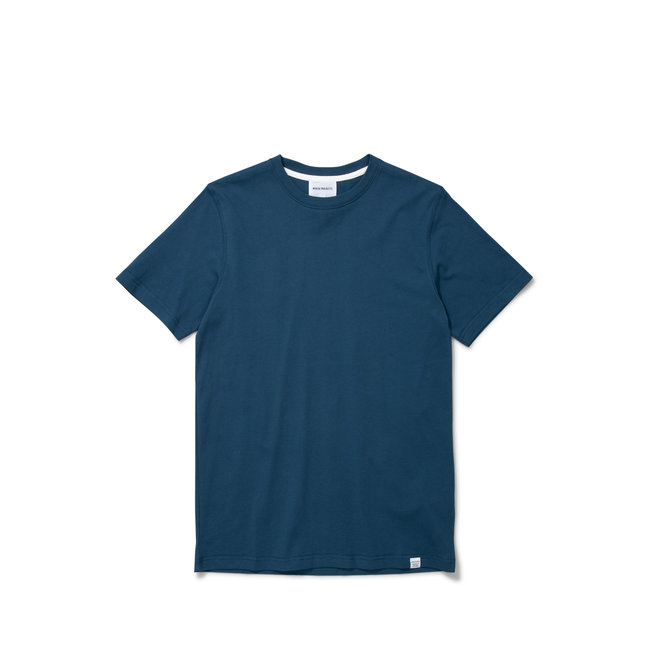 Norse Projects Niels Standard SS - Deep Teal