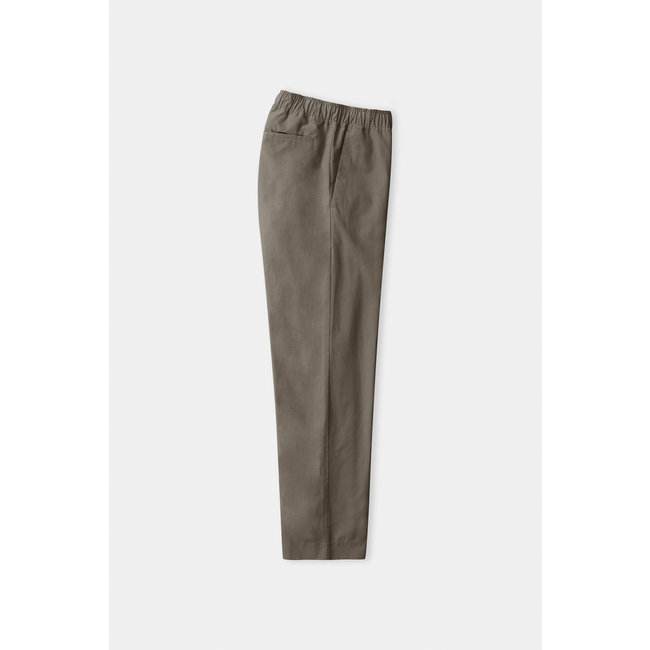 About Companions Max Trousers - Dusty Olive Tencel