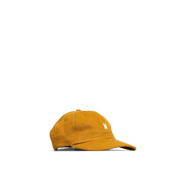 Norse Projects Twill Sports Cap - Oxide Yellow