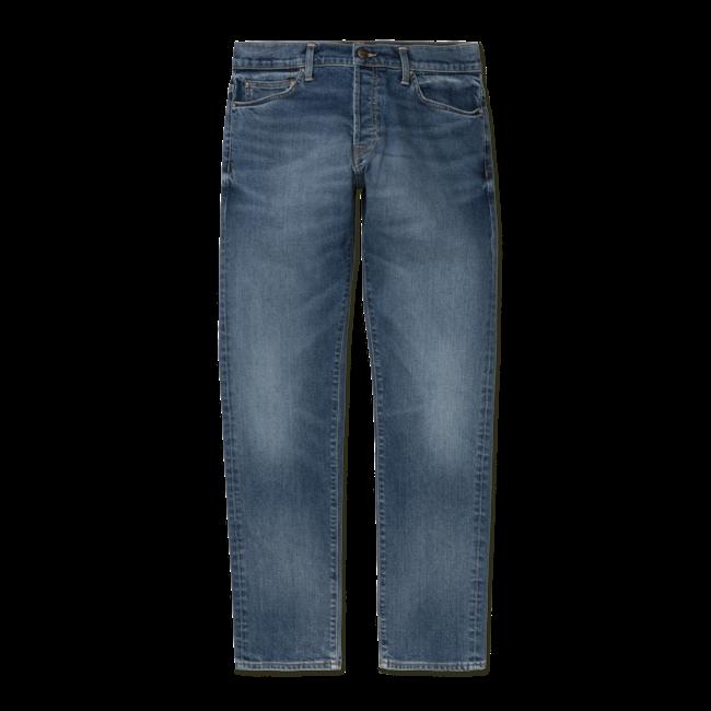 Carhartt WIP Klondike Pant - Cotton/Lycra® 'Mills' Blue Stretch Denim, 14 oz