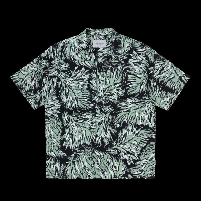 Carhartt WIP S/S Hinterland Shirt - Print / Black