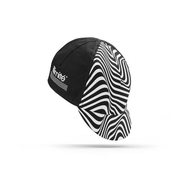Illimité Illimité 4-panel Cap Zebra