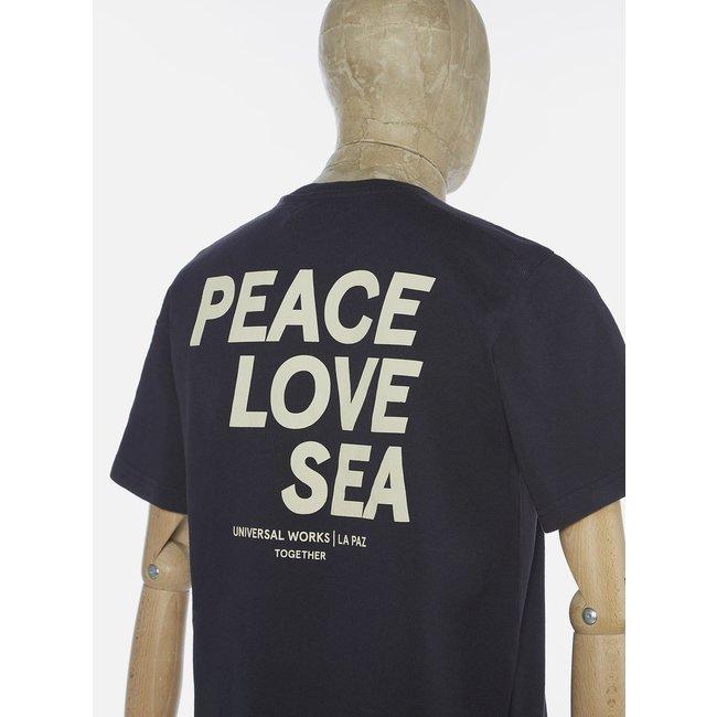 La Paz La Paz x UW - Navy T-Shirt