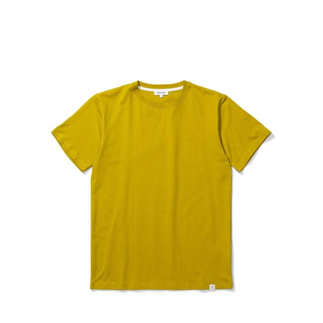 Norse Projects Niels Standard SS - Brass Yellow