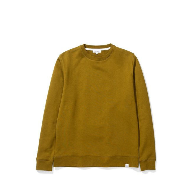 Norse Projects Vagn Classic Crew - Brass Yellow