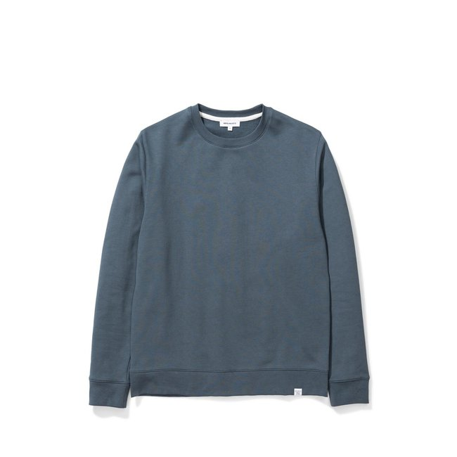 Norse Projects Vagn Classic Crew - Mineral Blue