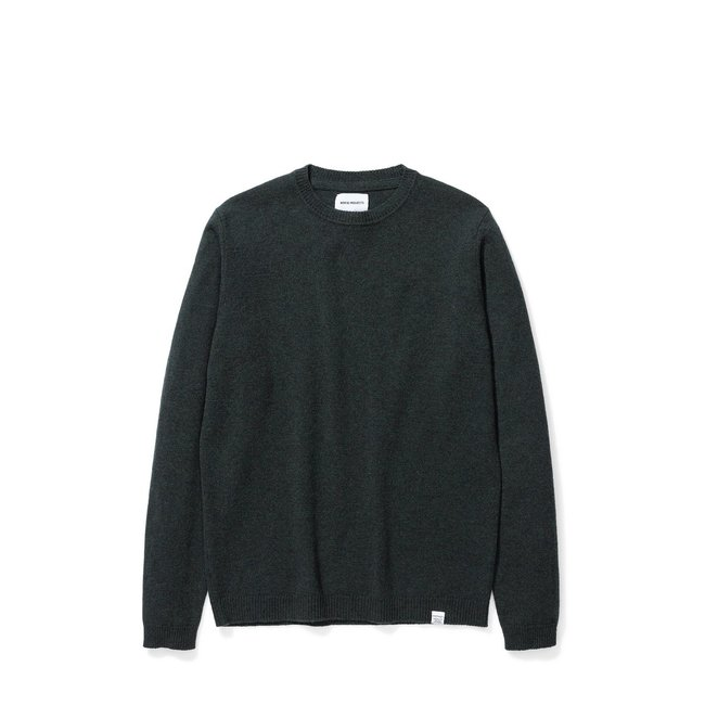 Norse Projects Sigfred Lambswool - Forest Green