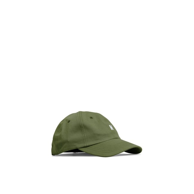 Norse Projects Twill Sports Cap -Linden Green