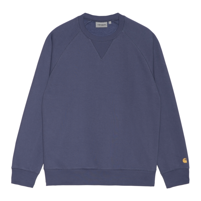 Carhartt WIP Chase Sweat - Cold Viola / Gold