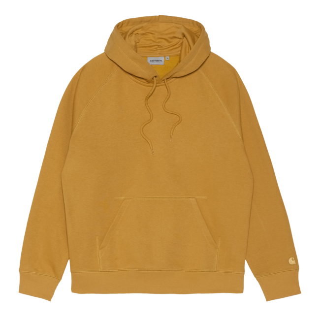 Carhartt WIP Hooded Chase Sweat - Helios / Gold