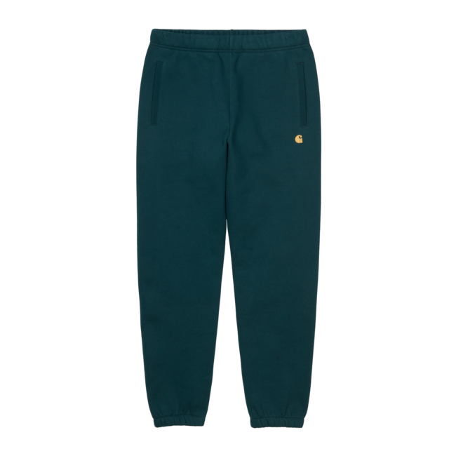Carhartt WIP Chase Sweat Pant - Frasier / Gold
