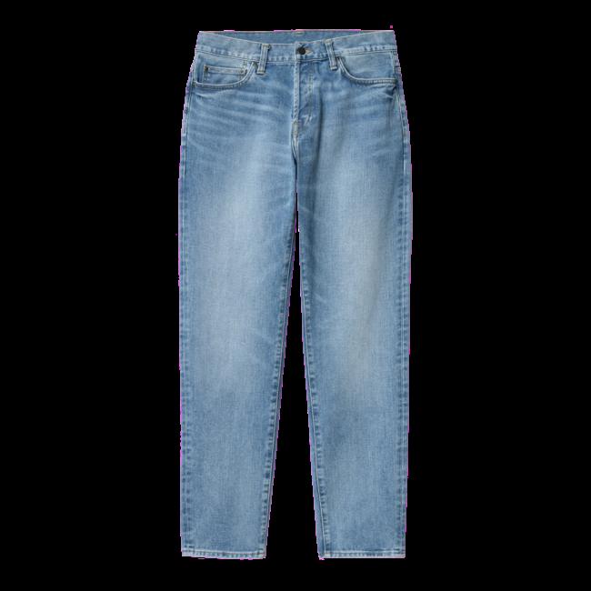 Carhartt WIP Klondike Pant - Blue light used wash