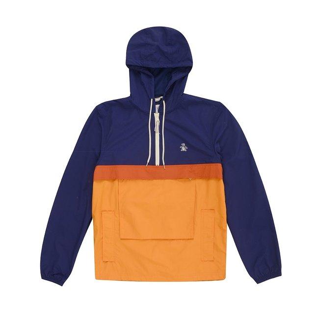 Original Penguin Popover Jacket - Medieval Blue