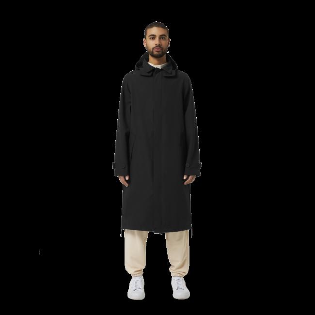 Maium Mac Coat- Black