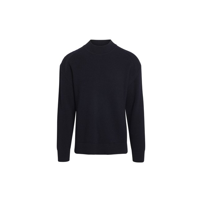 Mads Nørgaard Recycled Wool Mix Kailo - Navy
