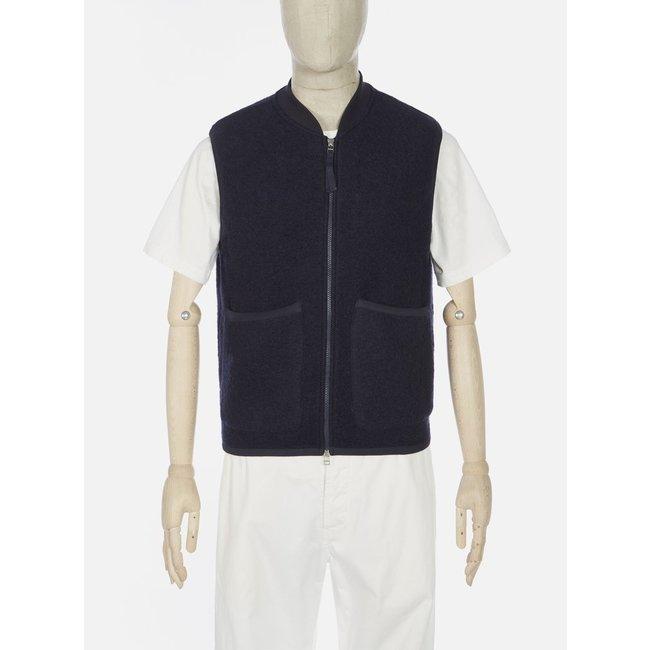 Universal Works Zip Waistcoat - Navy