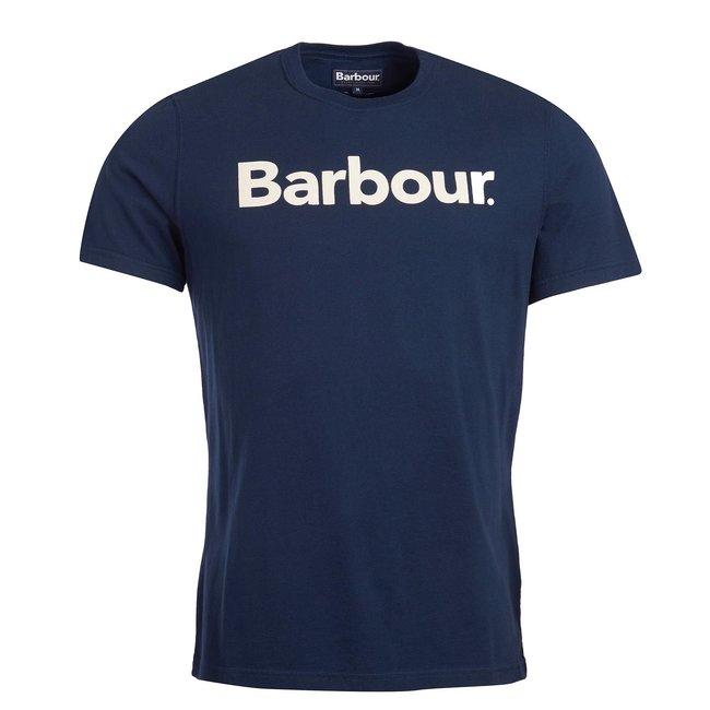 Barbour Barbour Logo Tee - New Navy