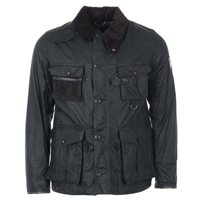 Barbour Gold Standard Supa Fission Wax  - Sage
