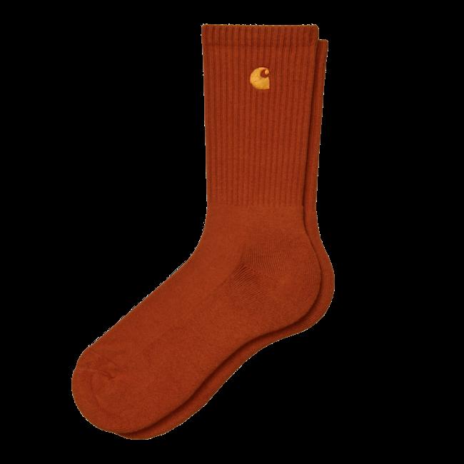 Carhartt WIP Chase Socks - Copperton / Gold