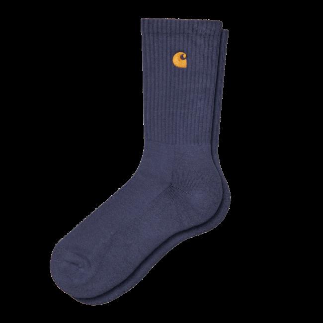 Carhartt WIP Chase Socks - Viola / Gold