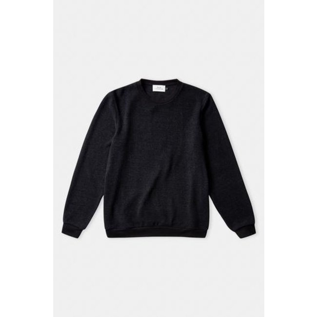 About Companions Hans Jumper - Eco Knotted Black