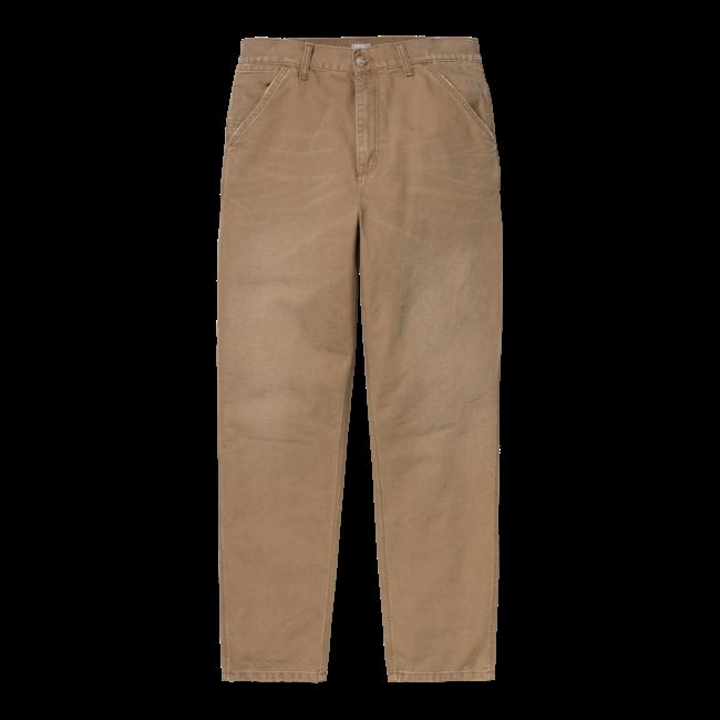 Carhartt WIP Single Knee Pant - Hamilton Brown aged canvas
