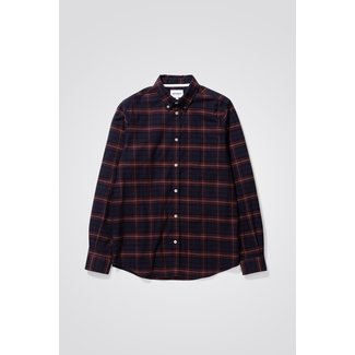 Norse Projects Anton Brushed Flannel Check