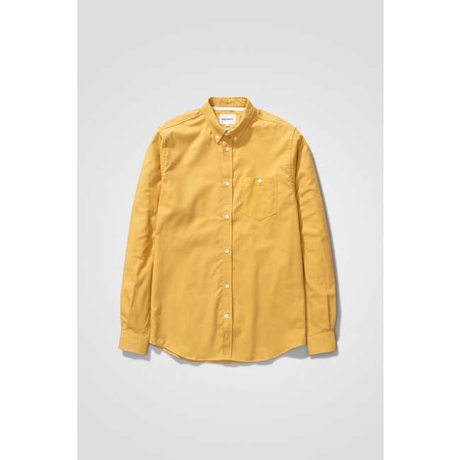 Norse Projects Anton Brushed Flanel - Brass Yellow