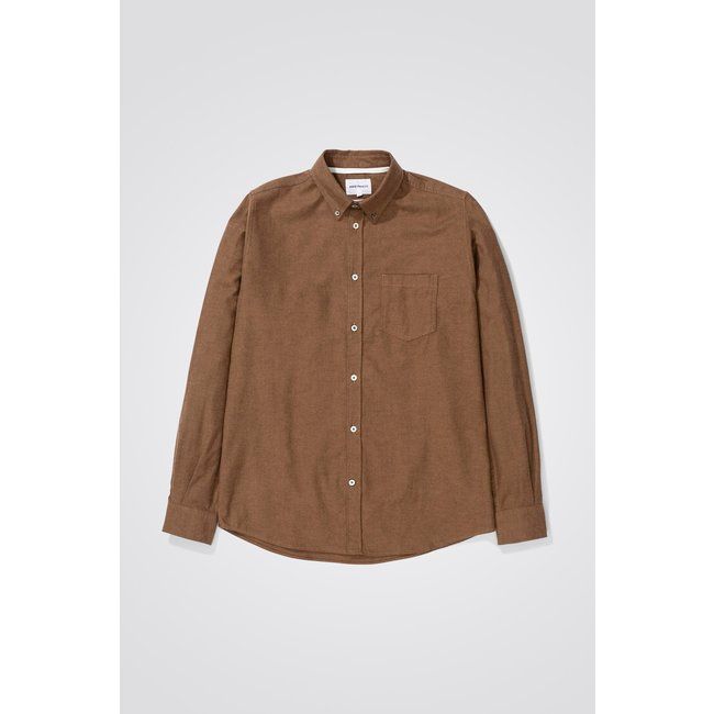 Norse Projects Anton Brushed Flanel - Taupe