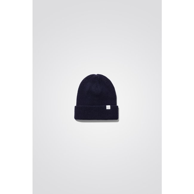 Norse Projects Norse Top Beanie - Black