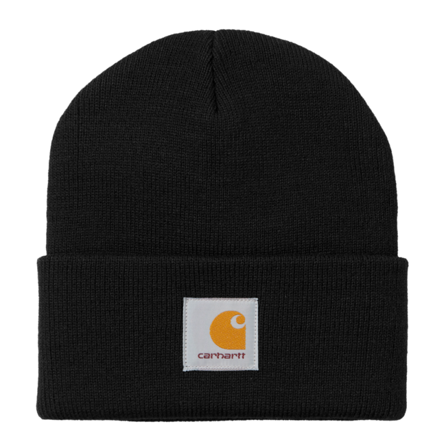 Carhartt WIP Short Watch Hat - Black