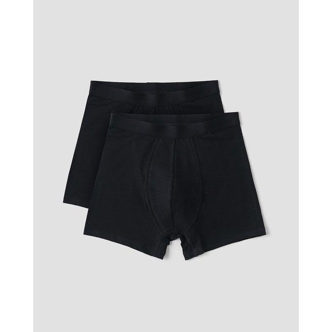 Organic Basics Organic Cotton Boxers 2-Pack - Black